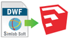 DWF Importer For SketchUp (Floating License) - Win/MAC