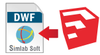 DWF Exporter For SketchUp (Single License) - Win/MAC