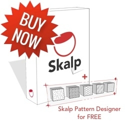 Skalp for SketchUp - (1-4 seats) Win/MAC