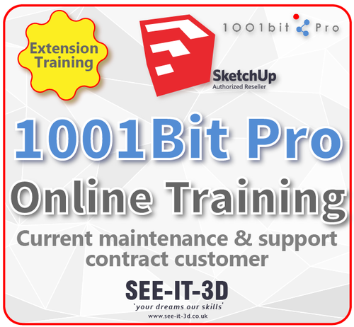 SketchUp 1001 Bit Pro Online Training - M&S Current