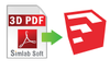 SimLab 3D PDF Importer For SketchUp (Floating)