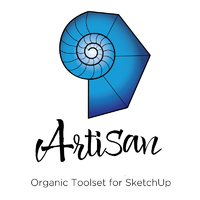 Artisan Organic Toolset for SketchUp