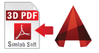 3D PDF Exporter For AutoCAD (Floating License) UP