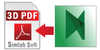 3D PDF Exporter For Navisworks (Standalone License) UP
