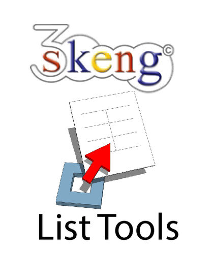 3Skeng List Tools Upgrade for PC/Mac