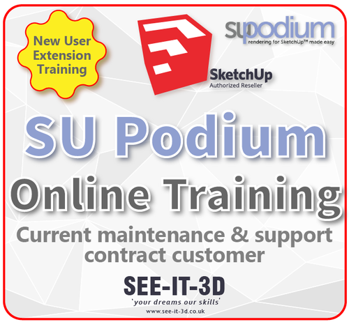 SEEIT3D-SU Podium ONLINE New User Training-M&S Current- 1 Day