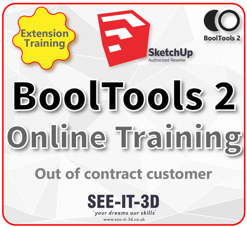 SketchUp BoolTools2 Online Training - No Contract
