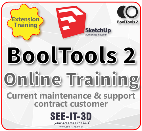 SketchUp BoolTools2 Online Training - M&S Current