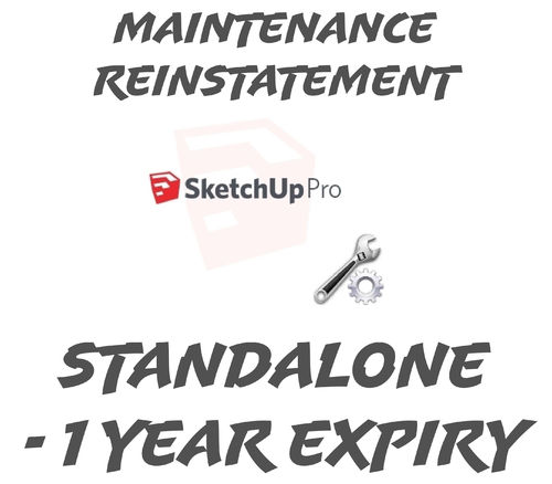 SketchUp Pro 2019 Standalone  Reinstatement 1 year or Below Expired