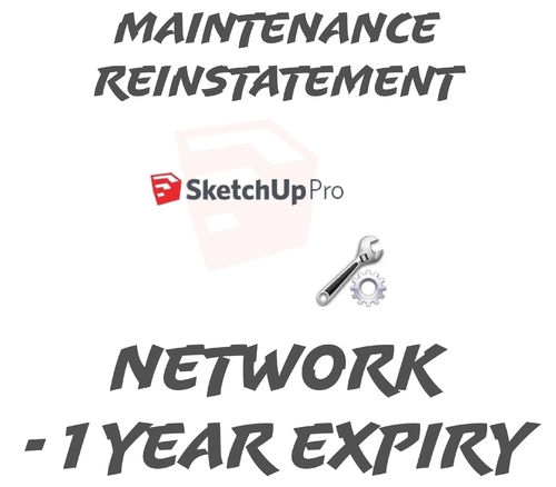 SketchUp Pro 2019 Network Reinstatement 1 year or Below Expired