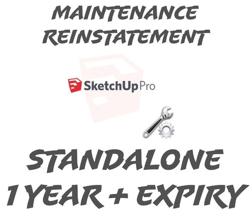 SketchUp Pro 2019 Standalone Reinstatement Beyond 1 Year Expired