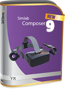 SIMLab Composer 9.1 VR Edition Floating (Network) Seat
