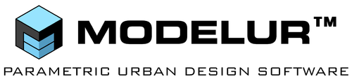 Modelur Personal Licence  Parametric urban design software tool - Annual Subscription